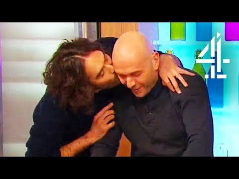 Cooking With Russell Brand Quickly Descends Into Madness on Sunday Brunch