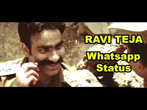 Raviteja Powerful Dialogue  | Vikramarkudu  | Whatsapp Status
