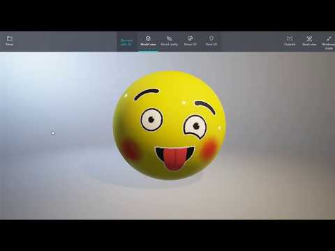 How To Create Simple 3D Models Easily | Paint 3D - Tutorial|