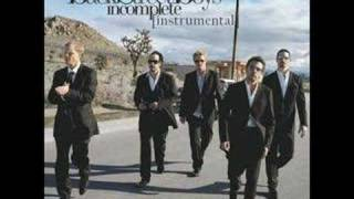 Backstreet Boys - Incomplete [Instrumental]