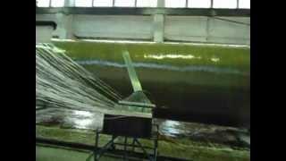 видео: Стеклопластик намотка 3000 Новосибирск