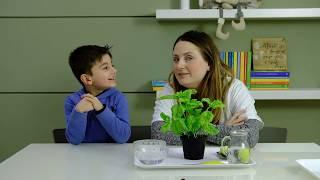 La casa dei bambini - Attività di vita pratica [Attività ispirate al metodo Montessori]