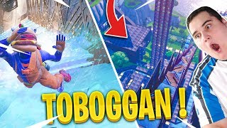 I YOU REDONNE THE CODE OF MY TOBOGGAN 100% AUTOMATIC ON CREATIVE FORTNITE!