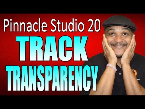 Pinnacle Stduio 20 Ultimate   Track Transparency Tutorial