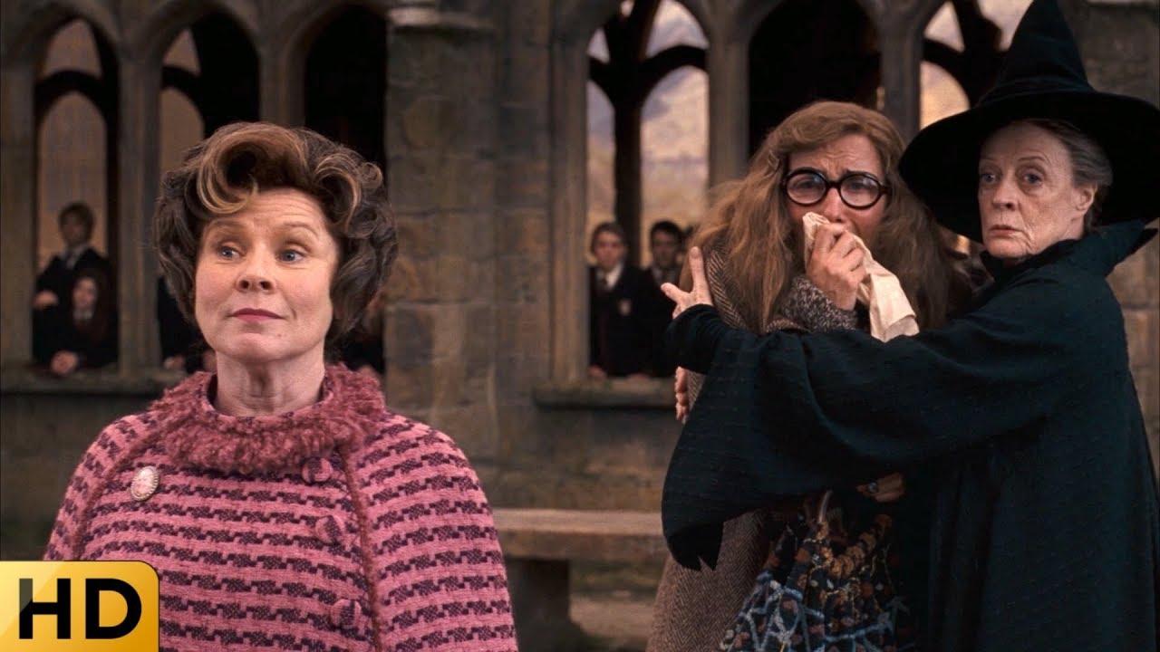 Амбридж выгоняет профессора Трелони. Гарри Поттер и Орден ...