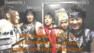 [Message Video] NINJAMAN JAPAN: World Visual Festival