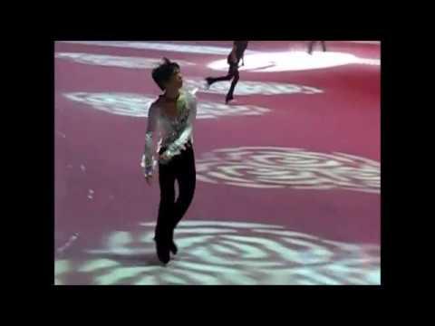 SCI 2016 - 161030 Gala Practice - Yuzuru Hanyu and Evgenia Medvedeva jumping compilation
