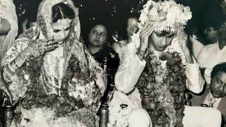 Unseen Wedding Pictures of Actor Kumar Gaurav & Namrata Dutt