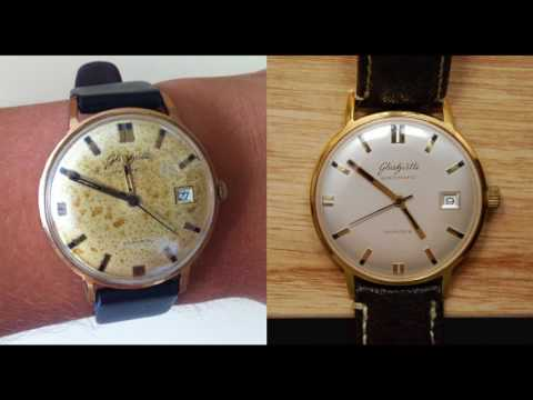 How to buy vintage wrist watches (Longines + Hamilton)