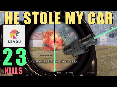 New Laser Sight is Amazing!!!  | 23 SOLO KILLS | SOLO SQUAD | PUBG Mobile