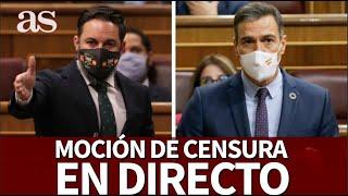 EN DIRECTO |  MOCIÓN DE CENSURA VOXI  Diario AS