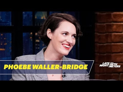 Phoebe Waller-Bridge Compares the London Tube to the NYC Subway