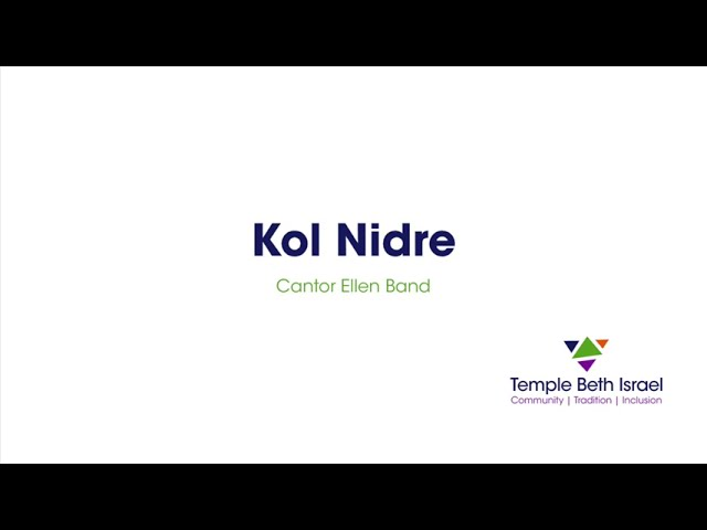 Kol Nidre (Cantor Ellen Band)