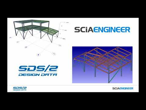 Designing Steel Structures with SCIA Engineer & SDS/2