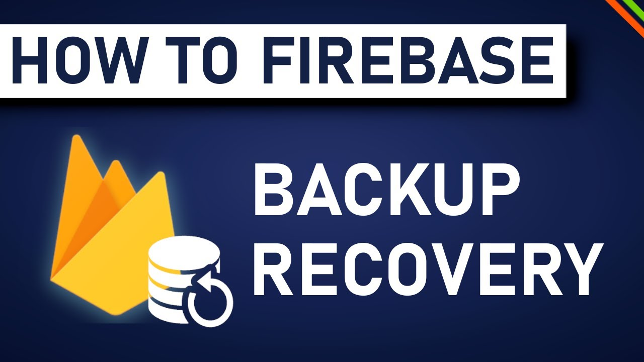 How To Recover A Backup From Firestore? | Advanced Firebase/Firestore