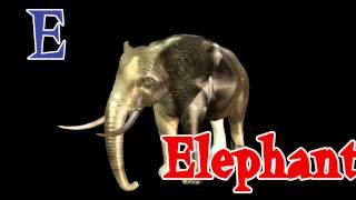 abc nursery Alphabets E is for Elephant  by Aisha