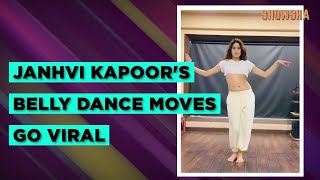 Janhvi Kapoor Belly Dancing Session Video Goes Viral | Trending Today | Showsha