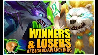 WINNERS AND LOSERS of Second Awakenings (Summoners War)