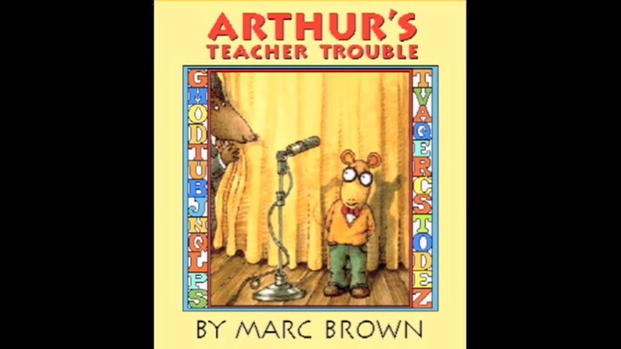 arthurs teacher trouble coloring pages - photo#14