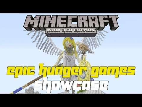 Minecraft Xbox 360: EPIC Hunger Games Map Showcase! Anima Luminosa w/Download!