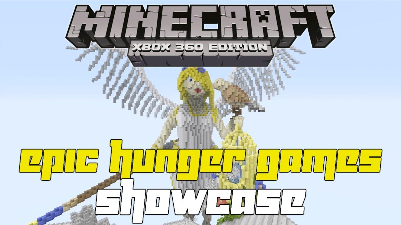 Xbox 360 Hunger Games : Minecraft xbox epic hunger games map showcase anima