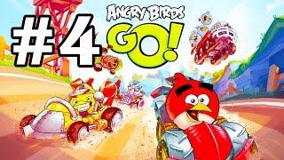 Angry Birds Go! Геймплей Прохождение Часть 4  Gameplay Walkthrough Part 4(, 2015-01-19T21:10:45.000Z)