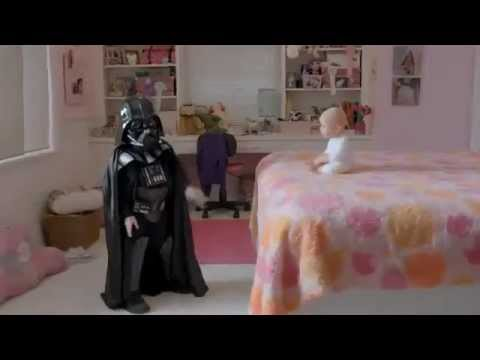 Baby Darth Vader in HD SUPER BOWL 2011 Volkswagen Commercial