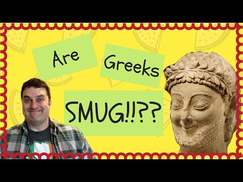 The Archaic Smile - Histories First S**t Eating Grin - Ancient Art Analysis and Documentary