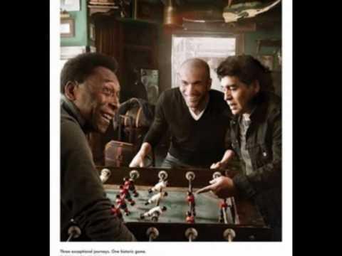 Zidane, Maradona, Pelé - Pub Louis Vuitton 2010
