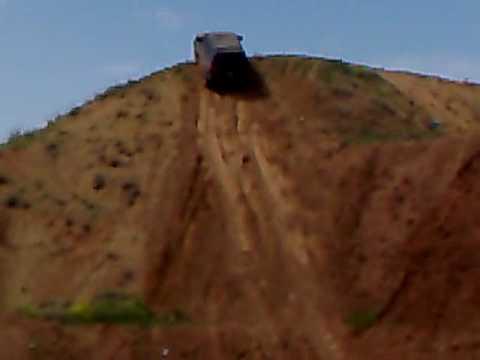 70% hill climb . Mitsubishi Montero sport. Armenia