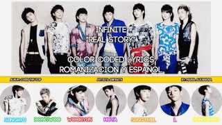 """인피니트 INFINITE """"Real Story"""" [COLOR CODED] [ROM SUBE…"""