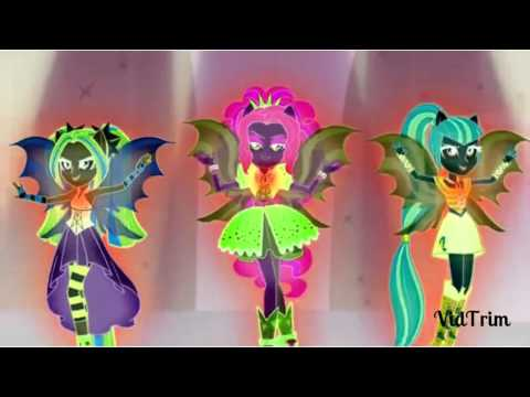 [HD] G Major Dark Pink Colors - Welcome To The Show - MLP : Equestria Girls - Rainbow Rocks