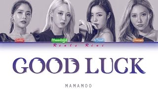 [Queendom] GOOD LUCK - MAMAMOO (마마무) [Color Coded Lyrics/가사 HAN|ROM|SUB INDO]
