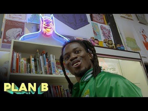 Denzel Curry Becomes A Comic Book Creator | Plan B