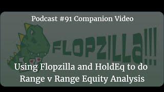 Using Flopzilla and HoldEq to do Range v Range Equity Analysis