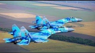 Лисичанск. АТО. Истребитель ВВС Украины нанес серию авиаударов по позициям террористов 02.07.2014