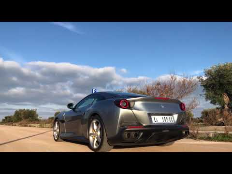 Ferrari Portofino | engine sound | fly by | #GCOS