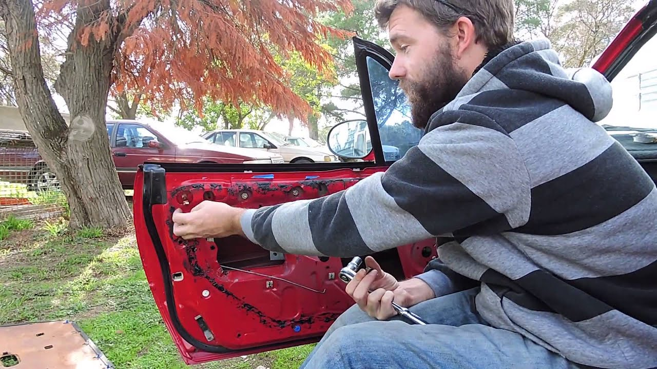 small resolution of how to dismantle clean mx5 power windows