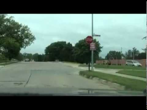 Bellevue Nebraska - A Drive in Capehart Housing