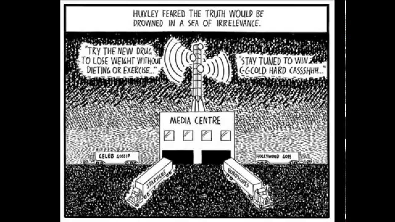 orwell s 1984 versus huxley s brave new world