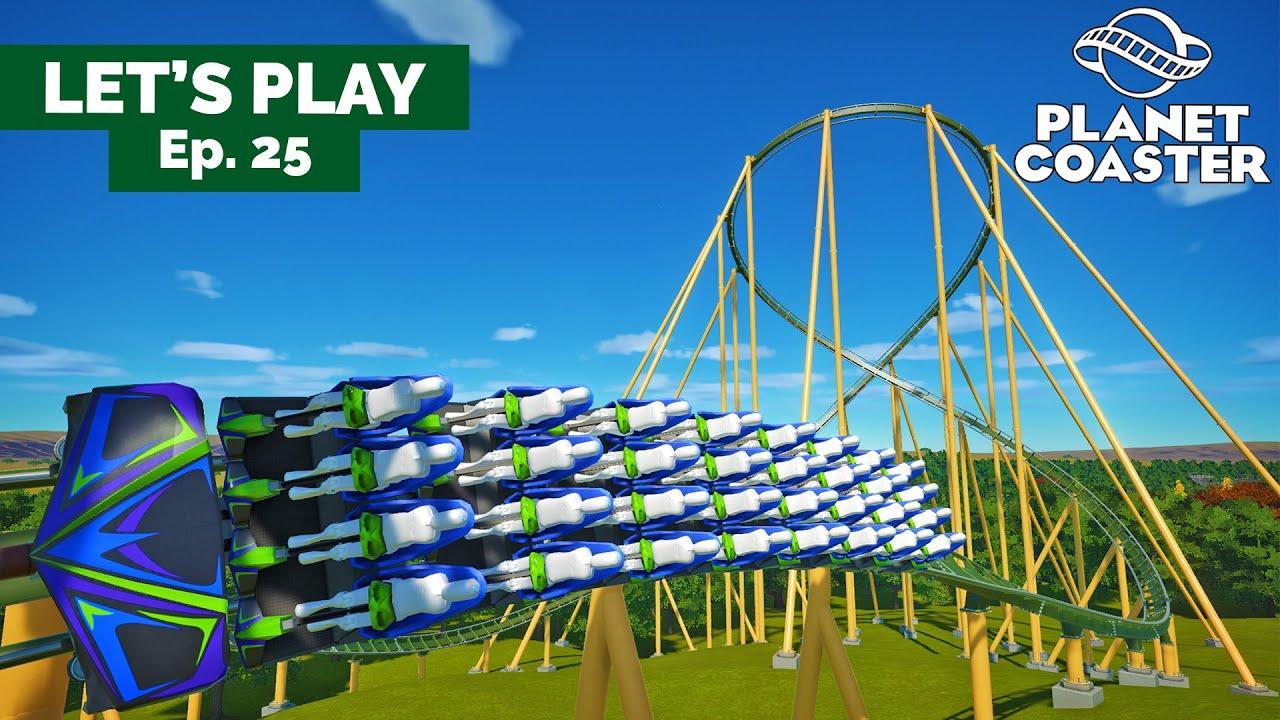 😲 Un HYPER COASTER B&M à Silverwood ! - Let's Play FR Planet Coaster EP25