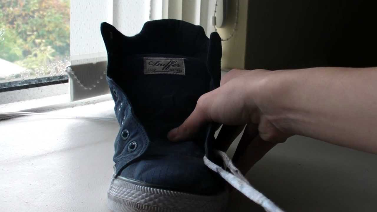How To Bar Lace Your Shoelaces