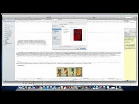 How to add a cover in Scrivener
