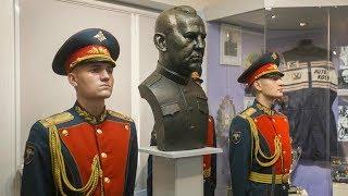 В Музее ЦСКА состоялось торжественное открытие бюста Прокопия Соколова