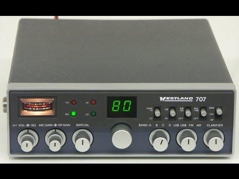 Westland 707 HAM-CB-Radio by Cybernet
