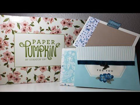 May 2019 Paper Pumpkin Alternative