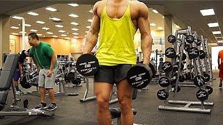 Shoulder Workout w/ Jeff Seid