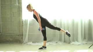 Below the Belt - 15 Minute Full Length Lower Body Home Workout using Dumbbells