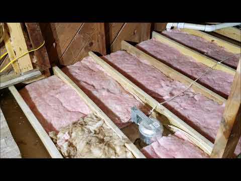 How To Install Blown In Insulation Youtube