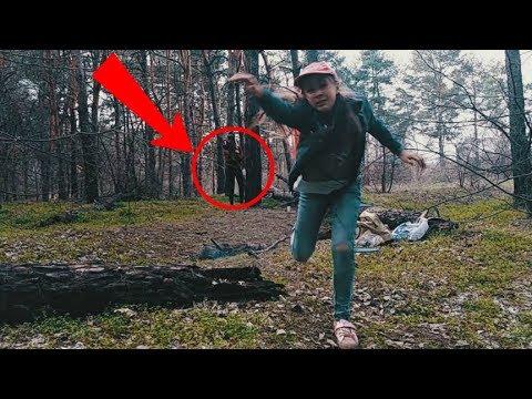 Что НАПУГАЛО нас в лесу??!! НИКА-ВЕРОНИКА и мама в поисках сокровищ